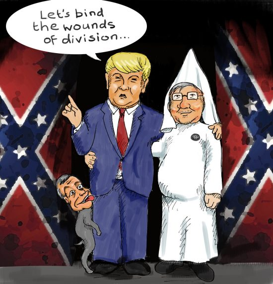 Image of: Our Cartoon Donald Trump Cartoon The Week Donald Trump Cartoon Preseident Elect Appoints Steve Bannonsven