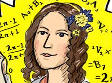 Ada Lovelace cartoon | National Media Museum | Digital illustration