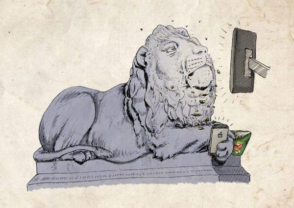 Saltaire lions vigilance
