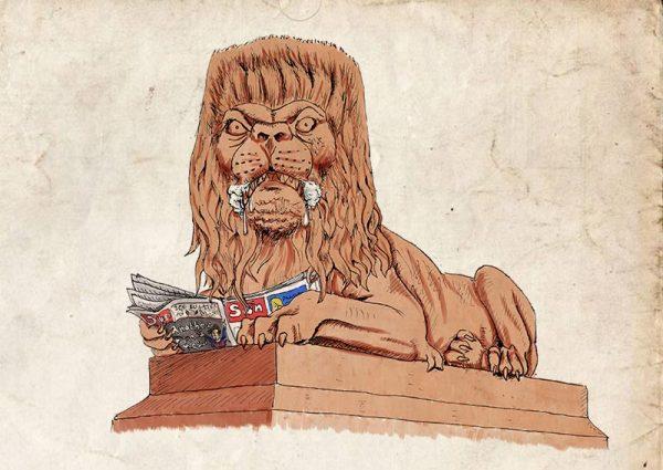 Saltaire lions war