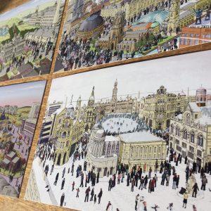 Yorkshire landscape postcards 2
