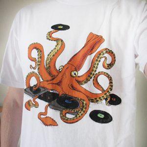 Squid dj tshirt