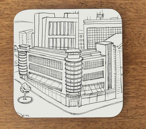 bradford architecture coaster