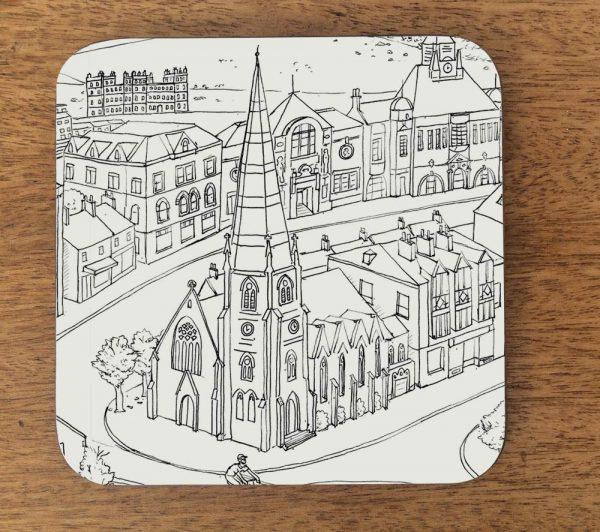 ilkley architecture coaster