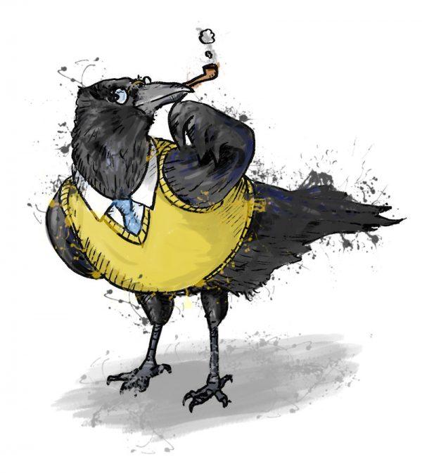 British birds - crow