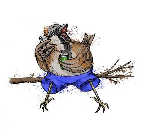British birds - sparrow