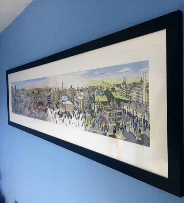 Yorkshire seasons framed 2