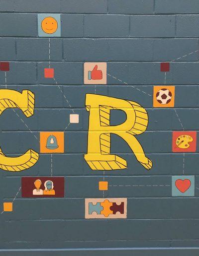 Denis Healey centre mural 7