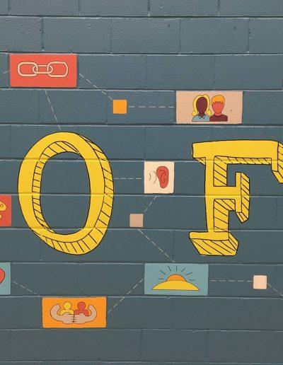 Denis Healey centre mural 6